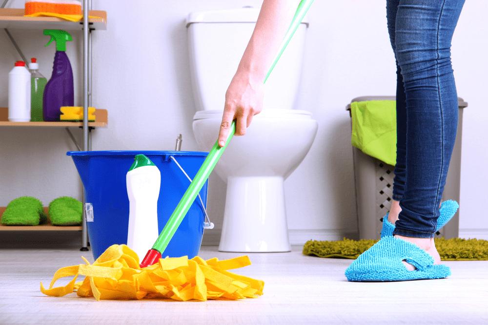 Tuvalet ve Banyo Temizliği